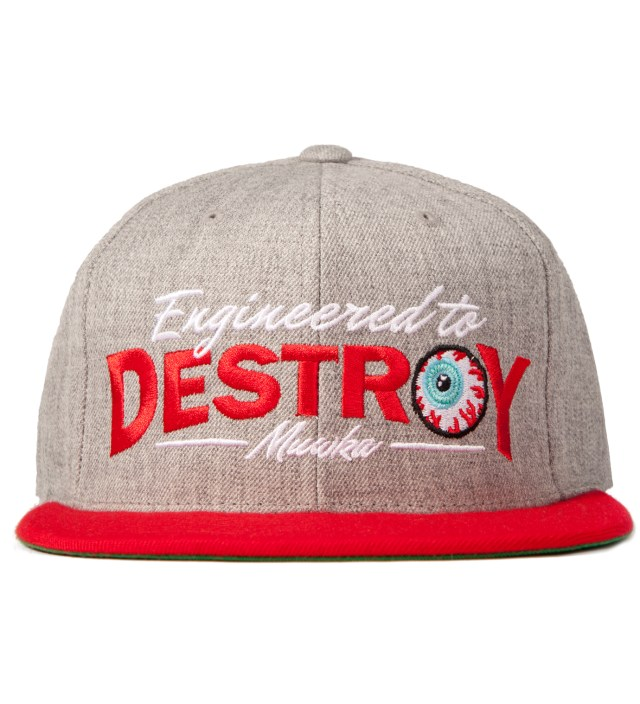 Heather Grey No Nonsense Starter Snapback Cap