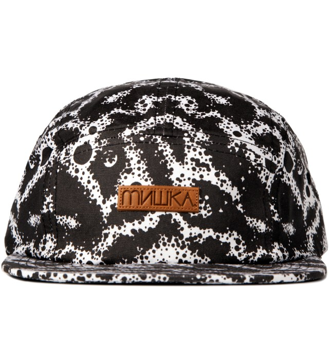 Black Space Truckin' 5-Panel Camper Cap