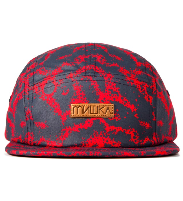 Navy Space Truckin' 5-Panel Camper Cap