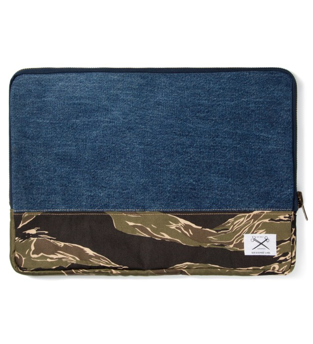 Tiger Stripe Clutch Bag