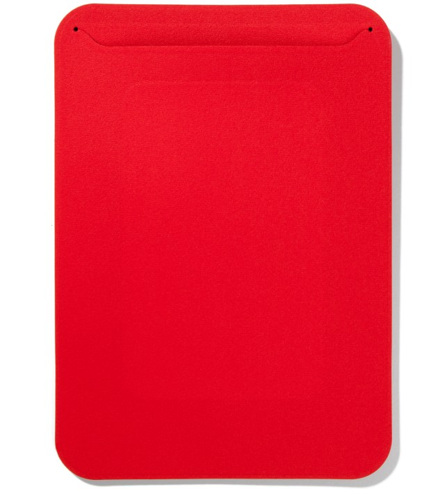 Carmine Red Microfibre Fabric Pouch iPad Mini Case