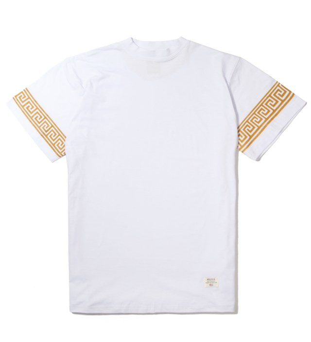 White/Gold Mr. Greek T-Shirt