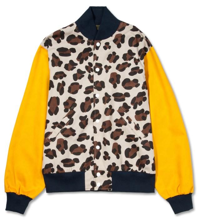 Leopard Varsity Jacket