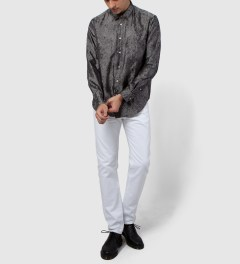 Sidian, Ersatz & Vanes Dark Grey Marble Shirt  Model Picutre