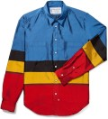 Blue/Red/Yellow/Black Shirt