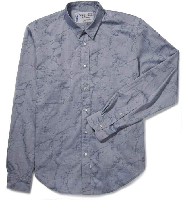 Light Grey Marble Shirt