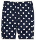 Navy w/ White Dot Chino Short