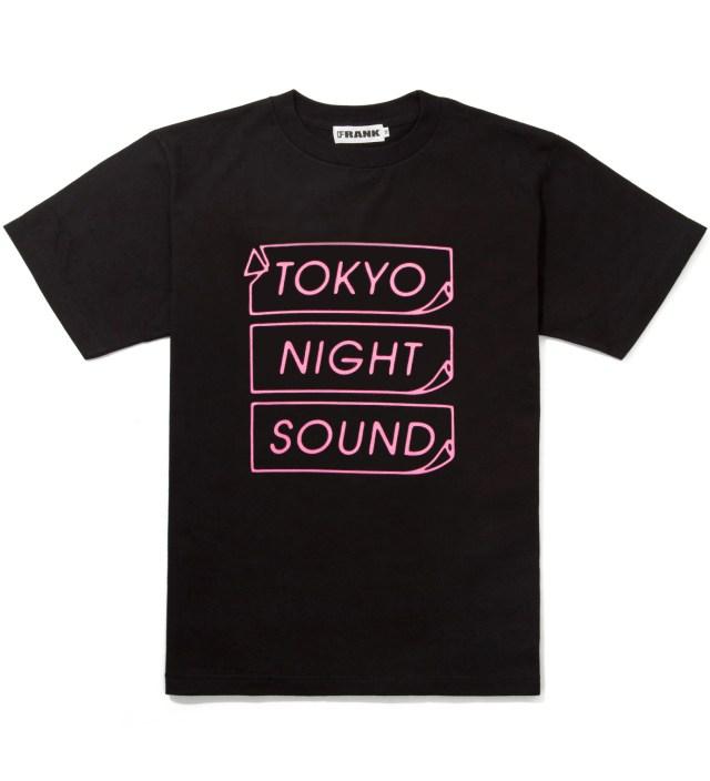 Black/Pink Frank Logo T-Shirt