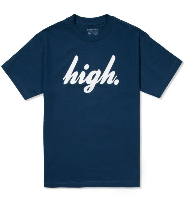Blue/White Domo High T-Shirt