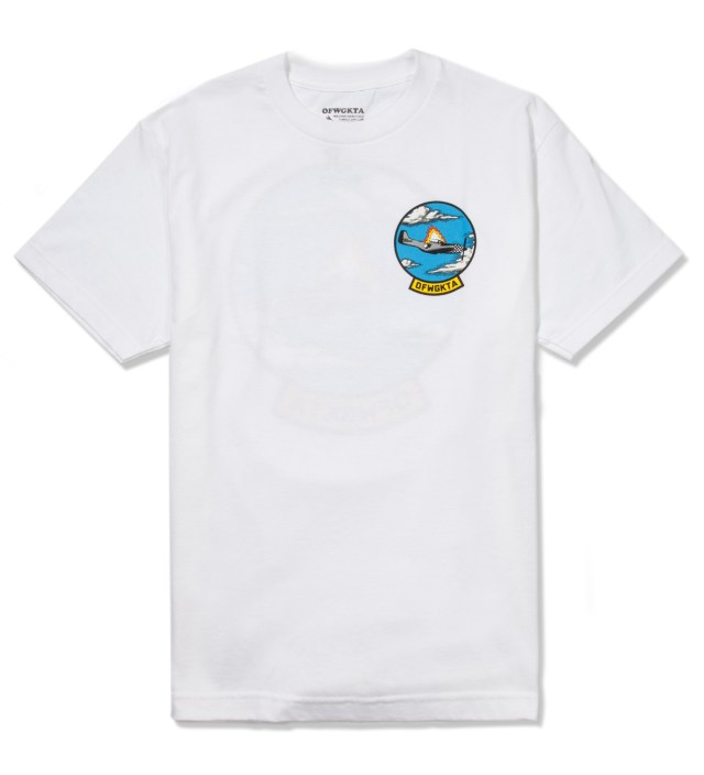 White Plane Crash T-Shirt