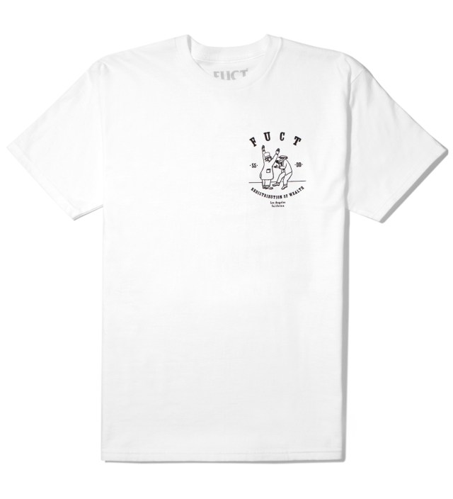 White Re-Distribution T-Shirt