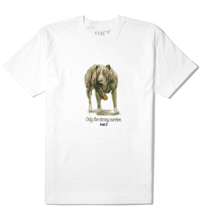 White Only The Strong Survive T-Shirt