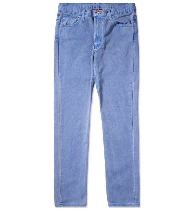 Deep Marine Prism Jeans