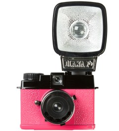 Lomography Diana Mini & Flash - En Rose Picutre