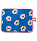 "Blue 13"" Donut Laptop Sleeve"
