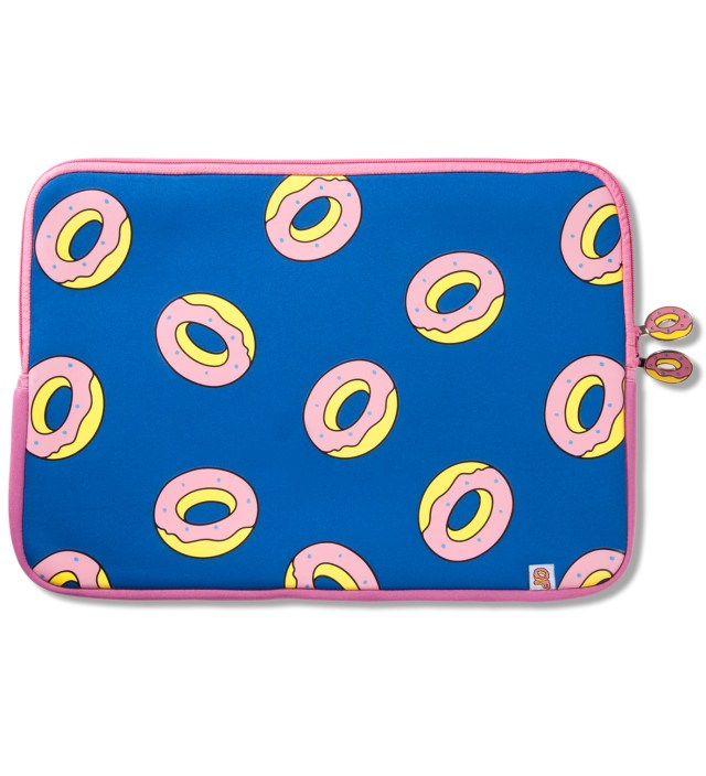 "Blue 15"" Donut Laptop Sleeve"