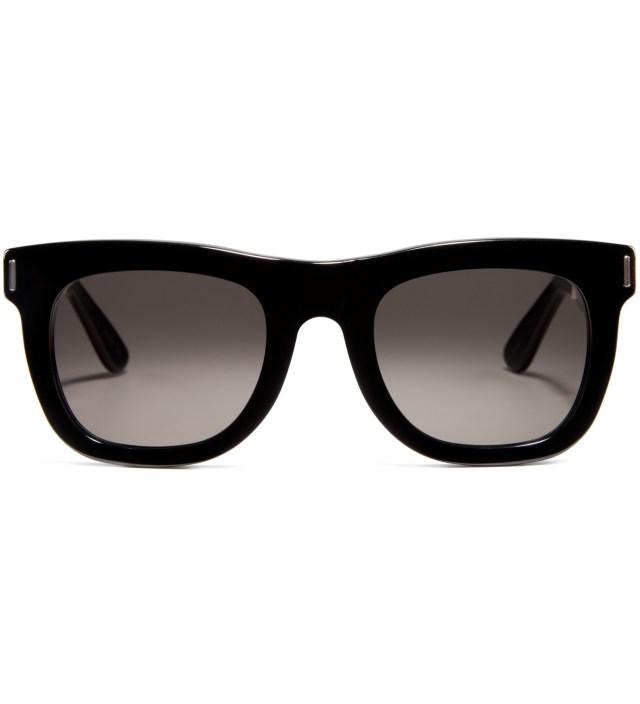 Ciccio Silver Francis Black Sunglasses