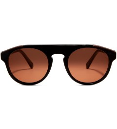 SUPER BY RETROSUPERFUTURE Racer Leather and Acetate Sunglasses Picutre