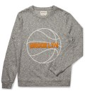 Grey/White Basket Sweater