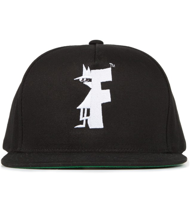 Black Mr. 8 Ball Snapback