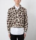 Leopard Jean Jacket