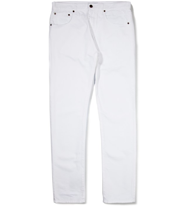 White Denim Trouser Pant