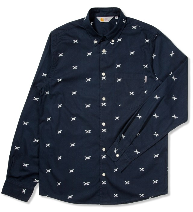 Navy/White Aldux Shirt