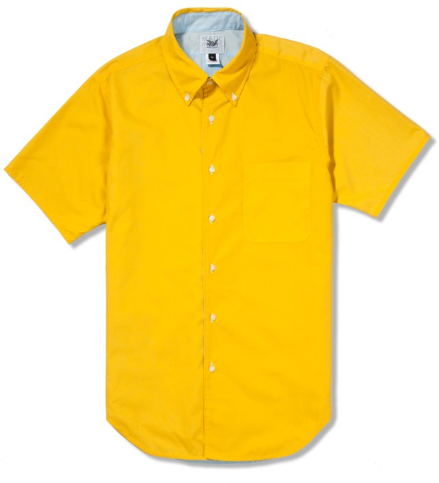 Yellow/Sky SS Reversible BD Shirt