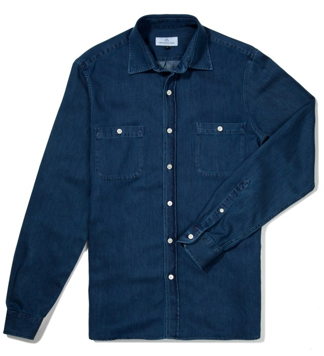 Dark Denim Lumber Shirt