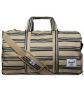 Navy/Khaki Stripe Novel Bag