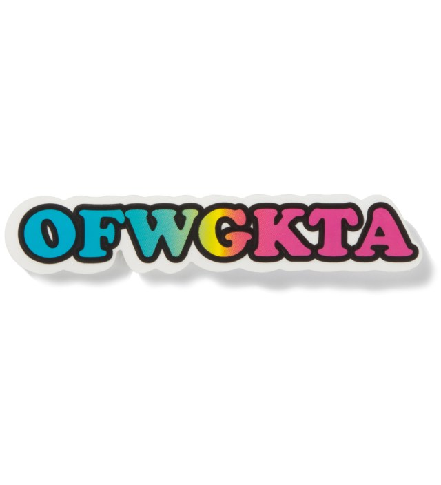 Rainbow OFWGKTA Clear Vinyl Sticker