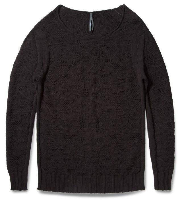 Black Kant Long Sweater