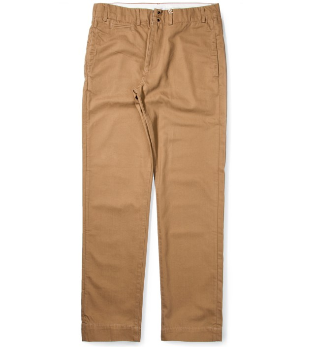 Tan Five Jet Chino Pant