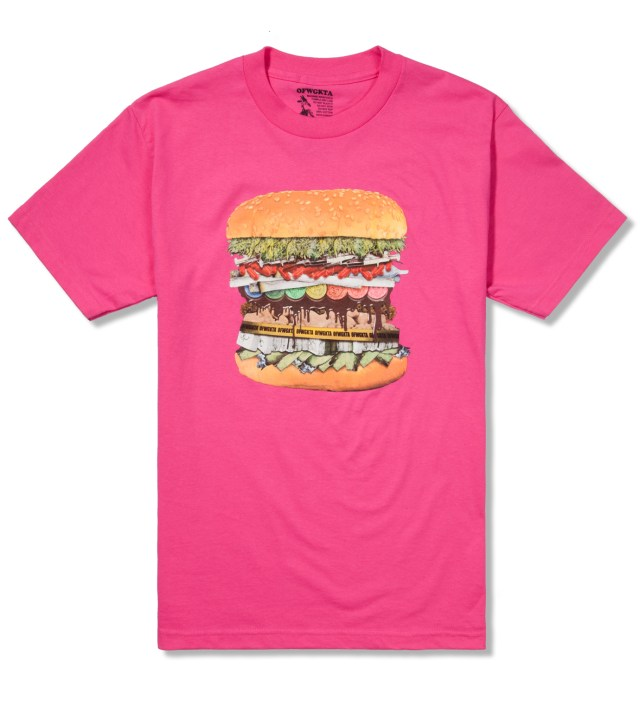 Hot Pink Drug Burger T-Shirt