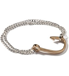 Miansai Polished Gold Plated Hook Chain Bracelet Picutre