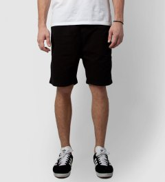 Soulland Black Fairplay Relax Shorts  Model Picutre