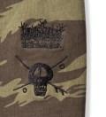 Olive Skull Crown Pullover Hoodie