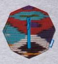 Heather Grey Ikat 8 Sides Pocket T-Shirt
