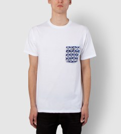 Tantum White Life Buoy Chief Pocket T-Shirt Model Picutre