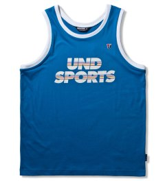 Undefeated Blue UND Sports Tank Top Picutre