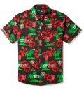 Black Hawaiian Sport Shirt