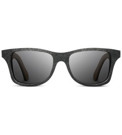 Shwood Stone Canby: Black Slate - Grey Polarized Sunglasses  Picutre