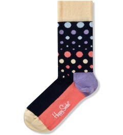 Happy Socks Black Disco Dot Socks Picutre