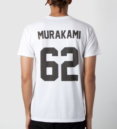LES (ART)ISTS White Murakami 62 T-Shirt Model Picutre