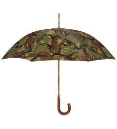 London Undercover Camo British Woodland City Gent Umbrella Picutre