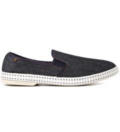 Rivieras Dark Blue Jean Shoe Picutre