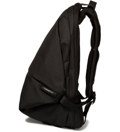 "Côte&Ciel Black 15"" Meuse Folded Backpack Model Picutre"