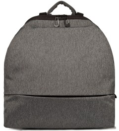"Côte&Ciel Black Melange 15"" Meuse Folded Backpack Picutre"