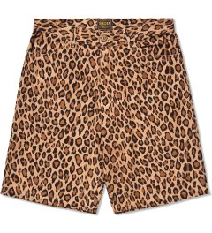 FUCT SSDD Brown Leopard Shorts Picutre