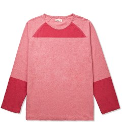 Folk Recycled Red Aron Raglan Picutre